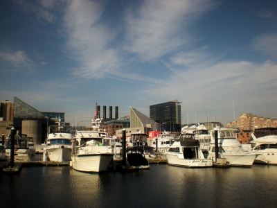 Boats, Inner Harbor, Baltimore, MD